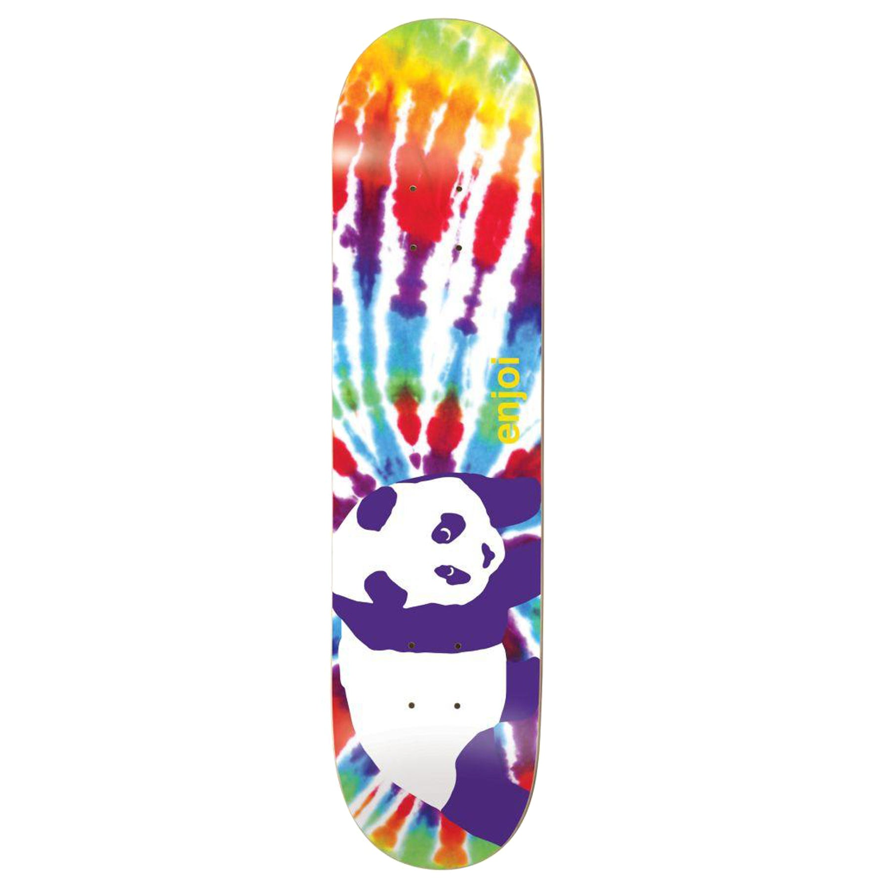 Enjoi Tie Dye V6 R7 Skateboard Deck - Multi