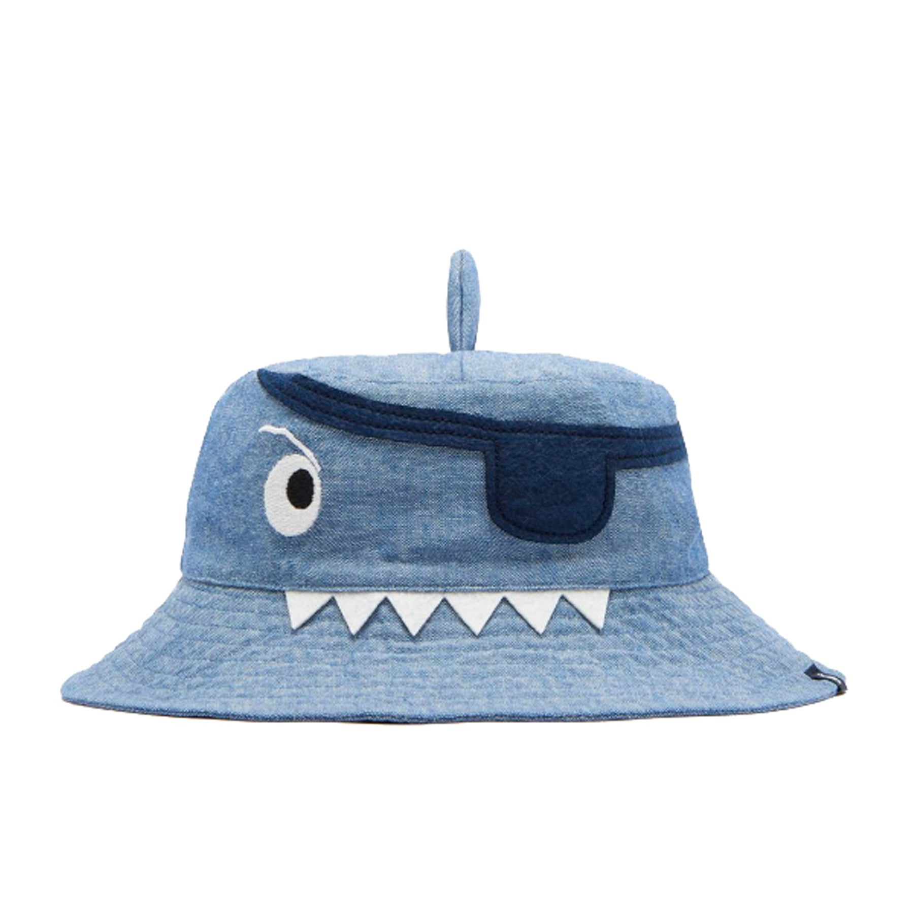 Joules Hatattack Boys Hat - Navy Pirate Shark