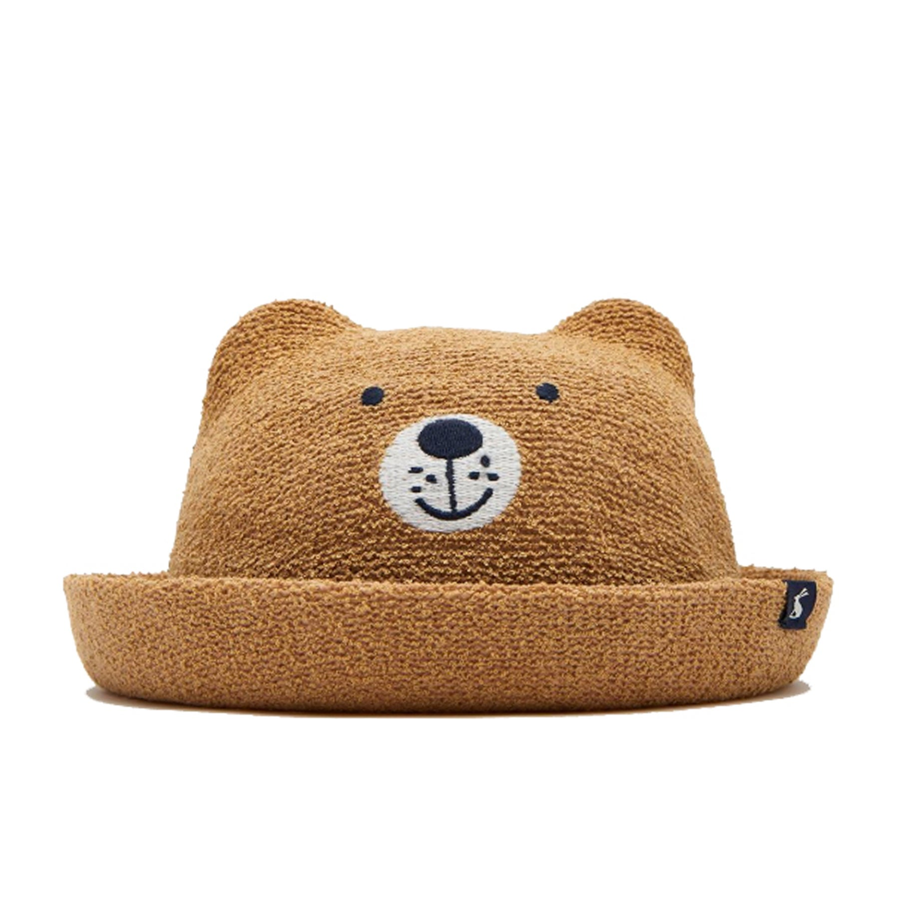 Joules Mikey Boys Hat - Brown Bear