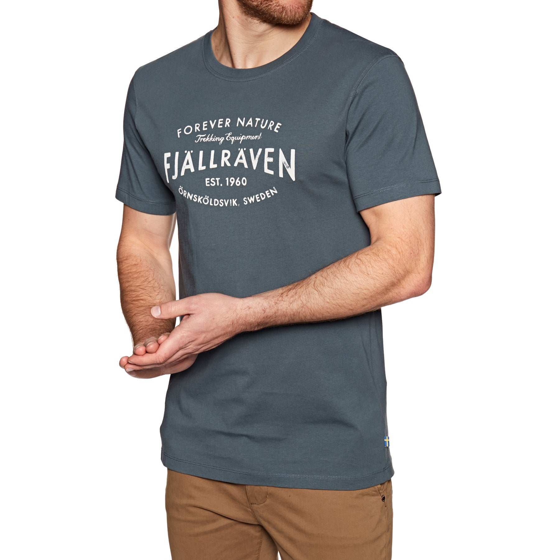 Fjallraven Est. 1960 Short Sleeve T-Shirt - Dusk