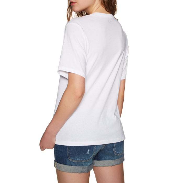 Hurley One And Only Push Through Womens Short Sleeve T-Shirt