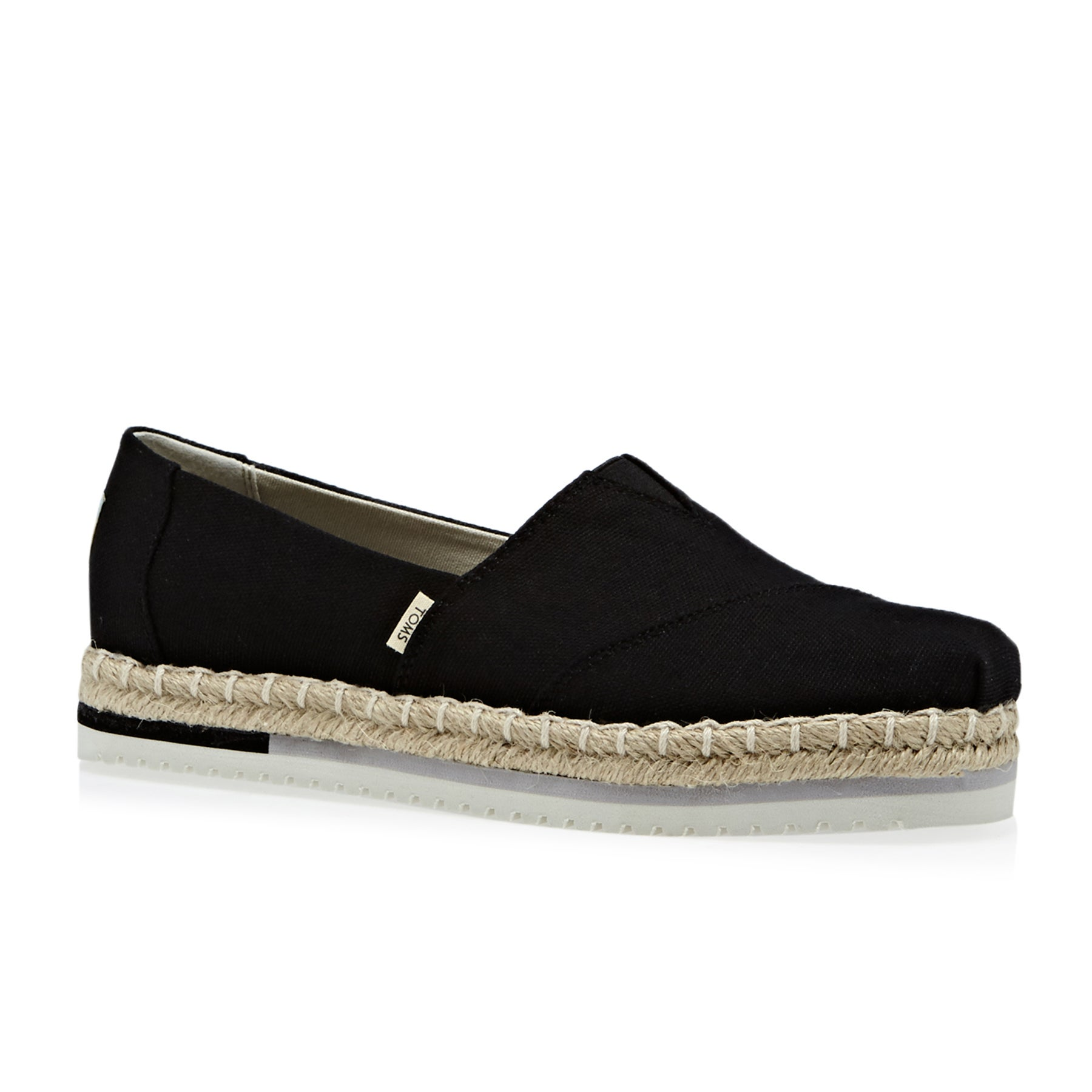 d4bb8598384 Toms Platform Alpargata Womens Slip On Shoes available from Surfdome