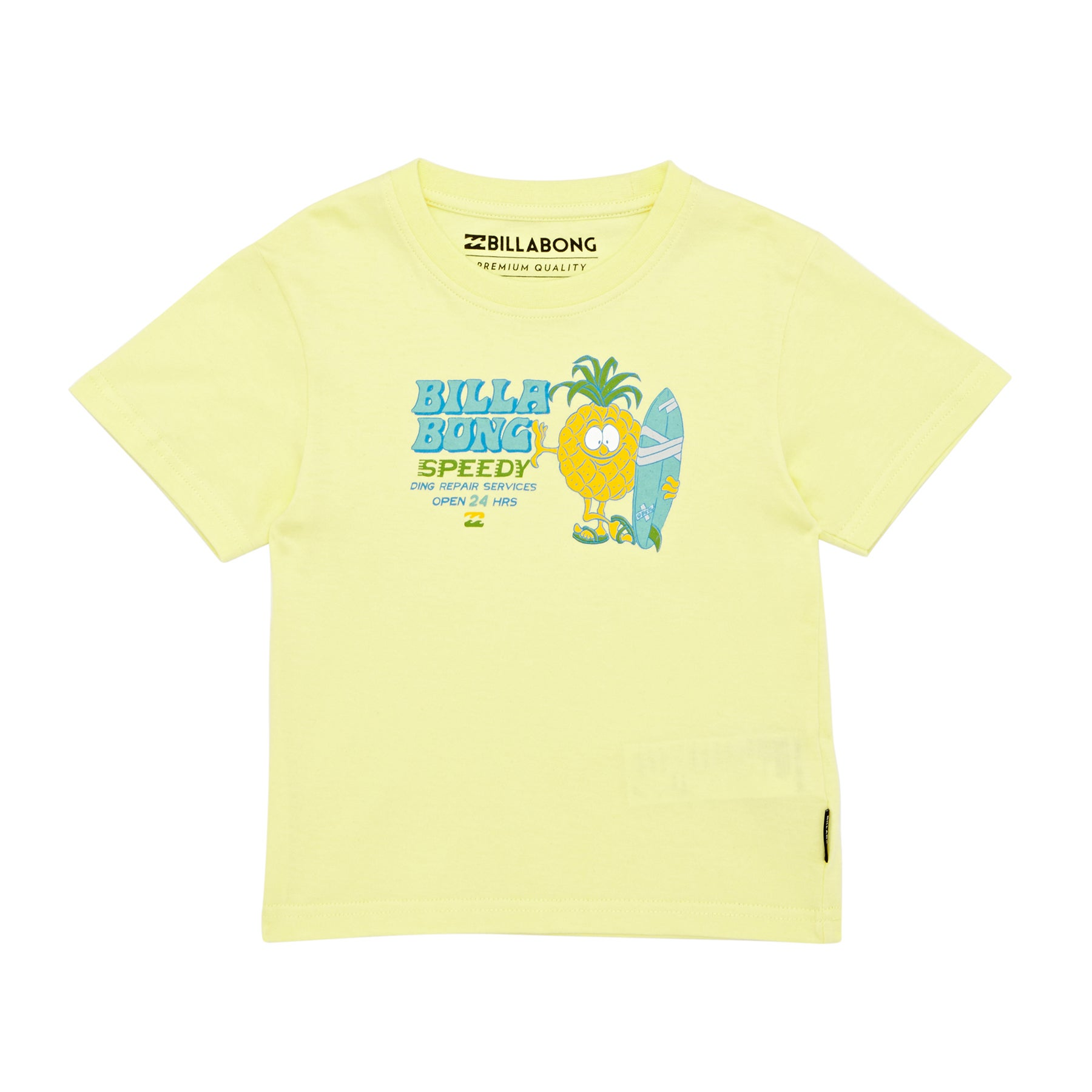 Camiseta de manga corta Niño Billabong Speedy Tod - Lemonade