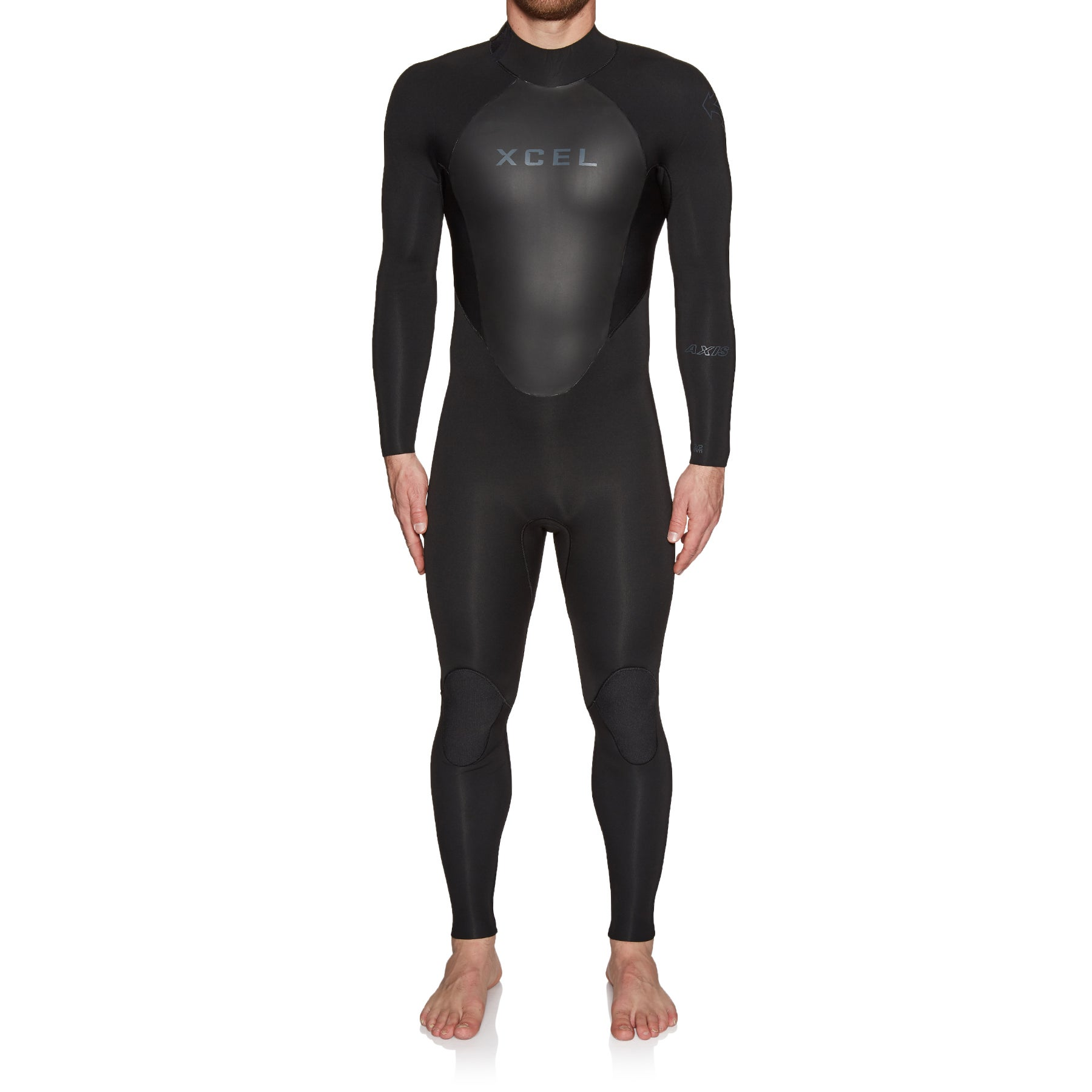 Xcel Axis 3/2mm Back Zip Wetsuit - Black