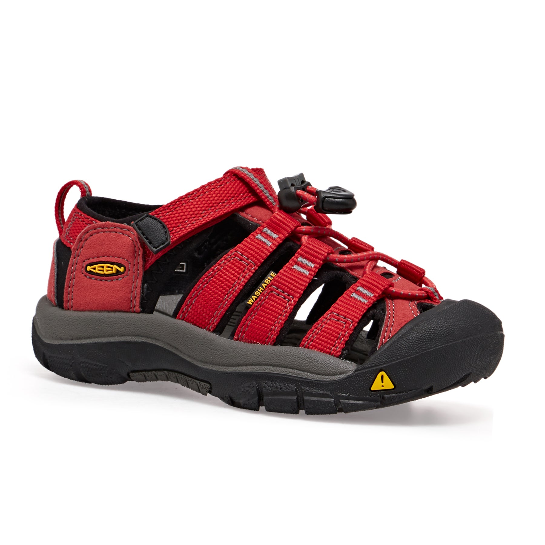 Keen Newport H2 Kids Sandals - Ribbon Red Gargoyle