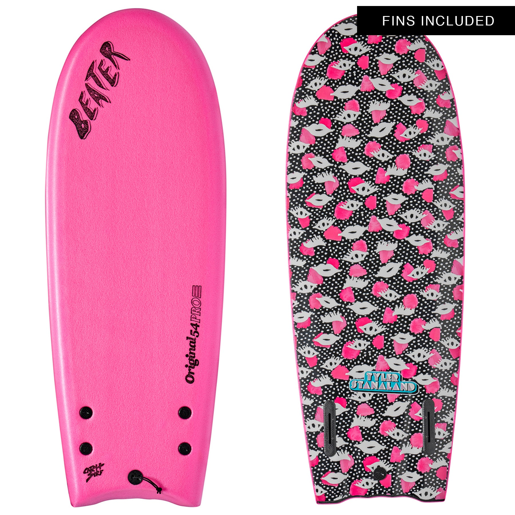 Catch Surf Tyler Stanaland Pro Model Surfboard - Hot Pink