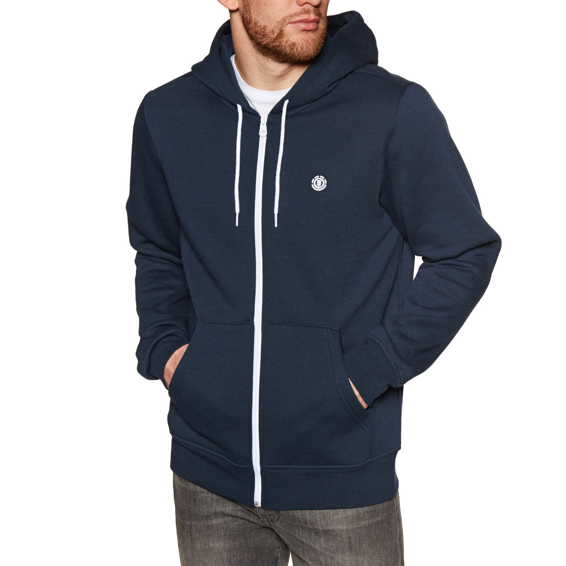 Element Cornell Classic Zip Hoody - Eclipse Navy