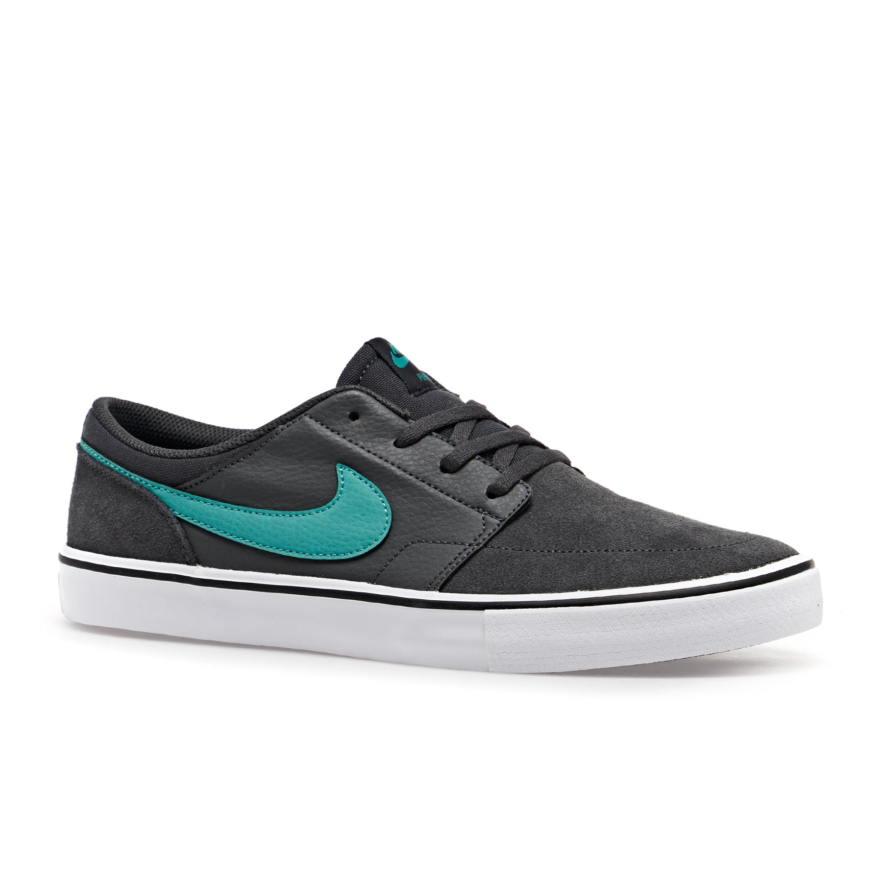 Chaussures Nike SB Portmore ll Solarsoft - Anthracite Cabana White