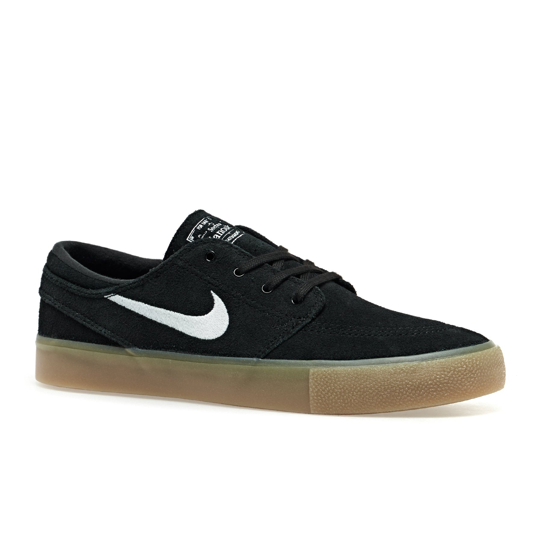 Nike SB Zoom Janoski Rm Shoes - Black White Gum Brown