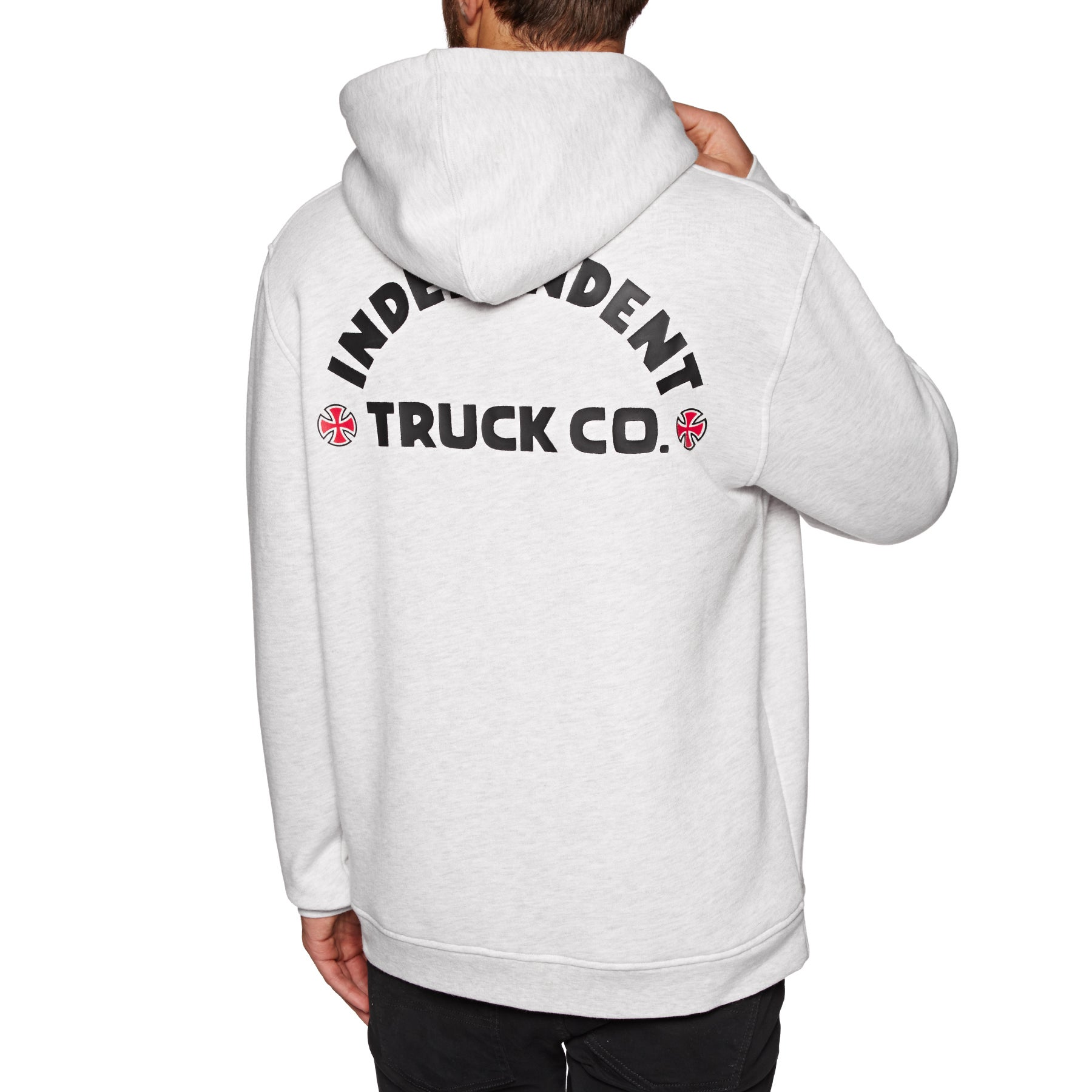 Independent Itc Bold Pullover Hoody - Athletic Heather