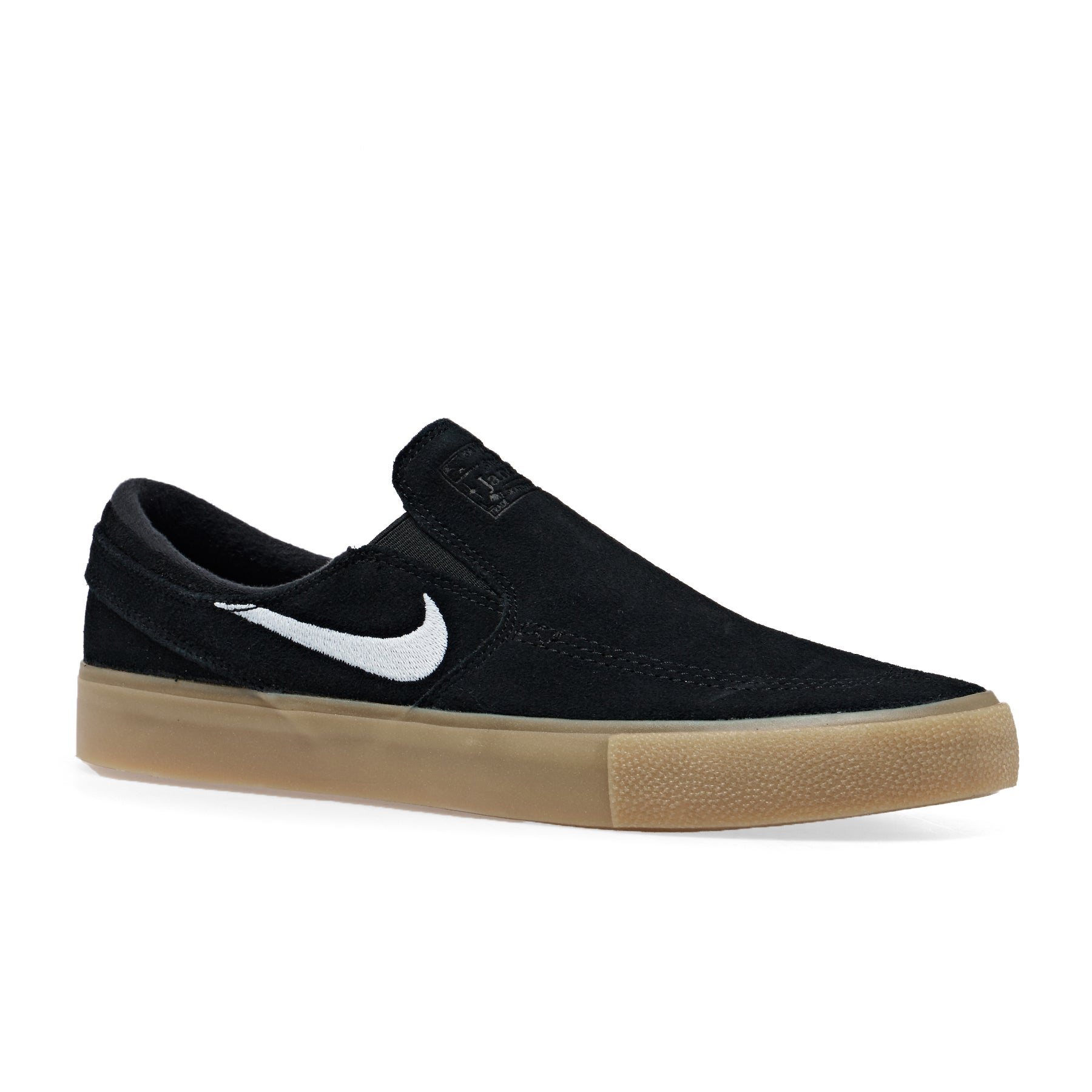 Mocassins Nike SB Zoom Janoski Rm - Black White Gum Brown