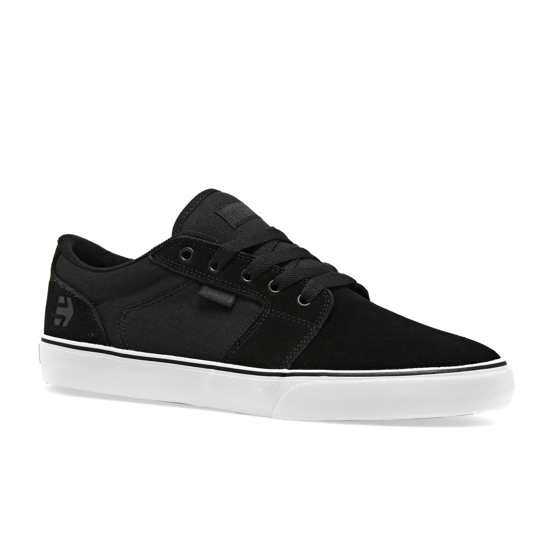 Etnies Barge LS Shoes - Black White Black