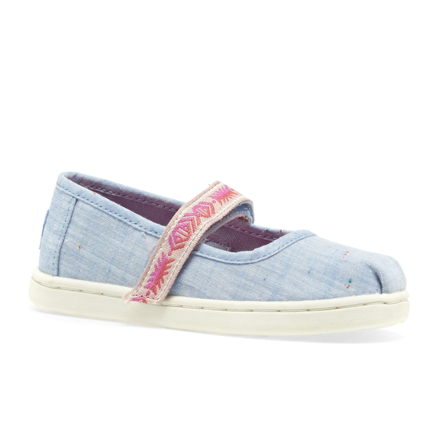 Toms Mary Jane Slip On Shoes - Light Blue