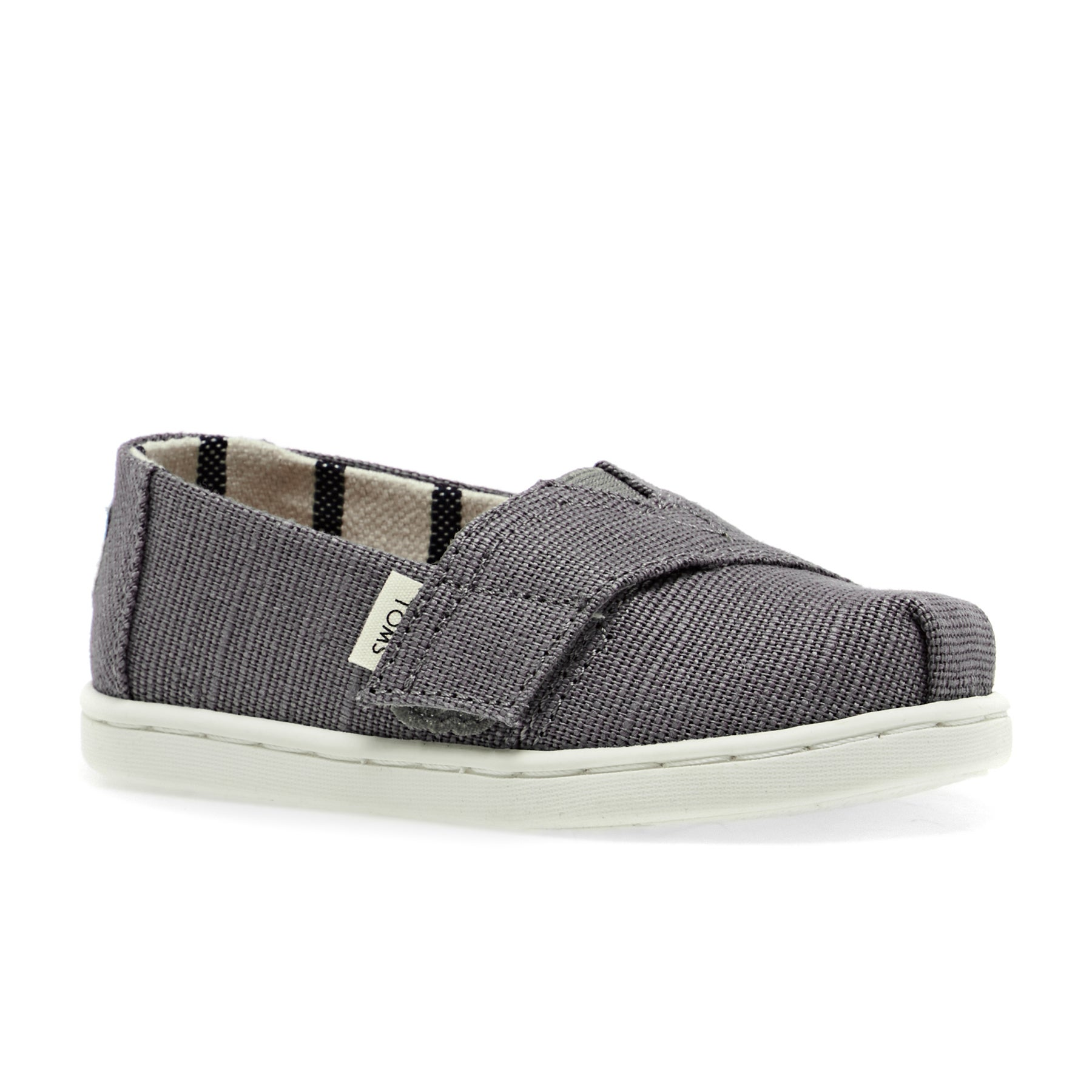 Toms Tiny Heritage Canvas Classic Kids Shoes - Shade Grey