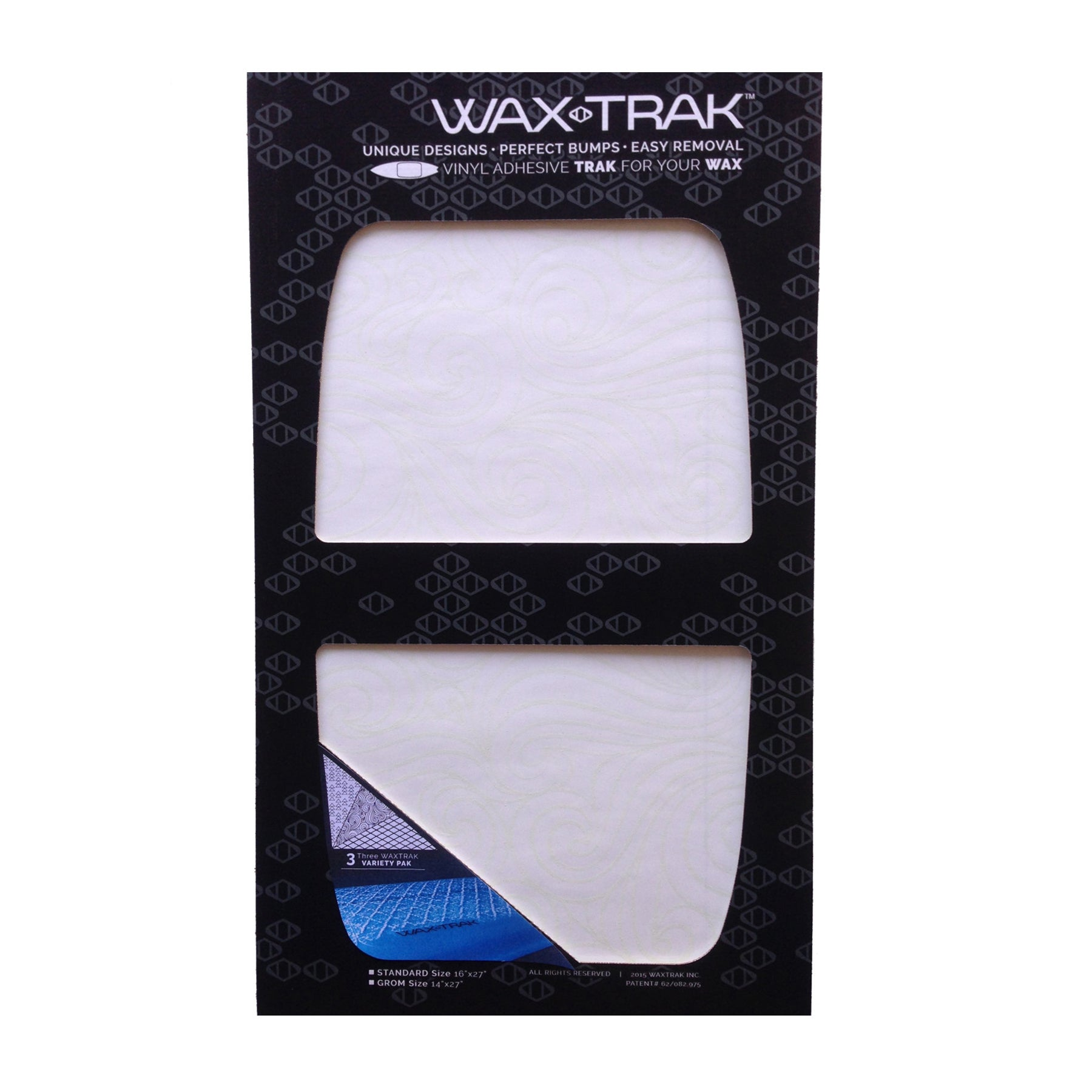Northcore Waxtrack 3 Pack Surf Tool - Clear