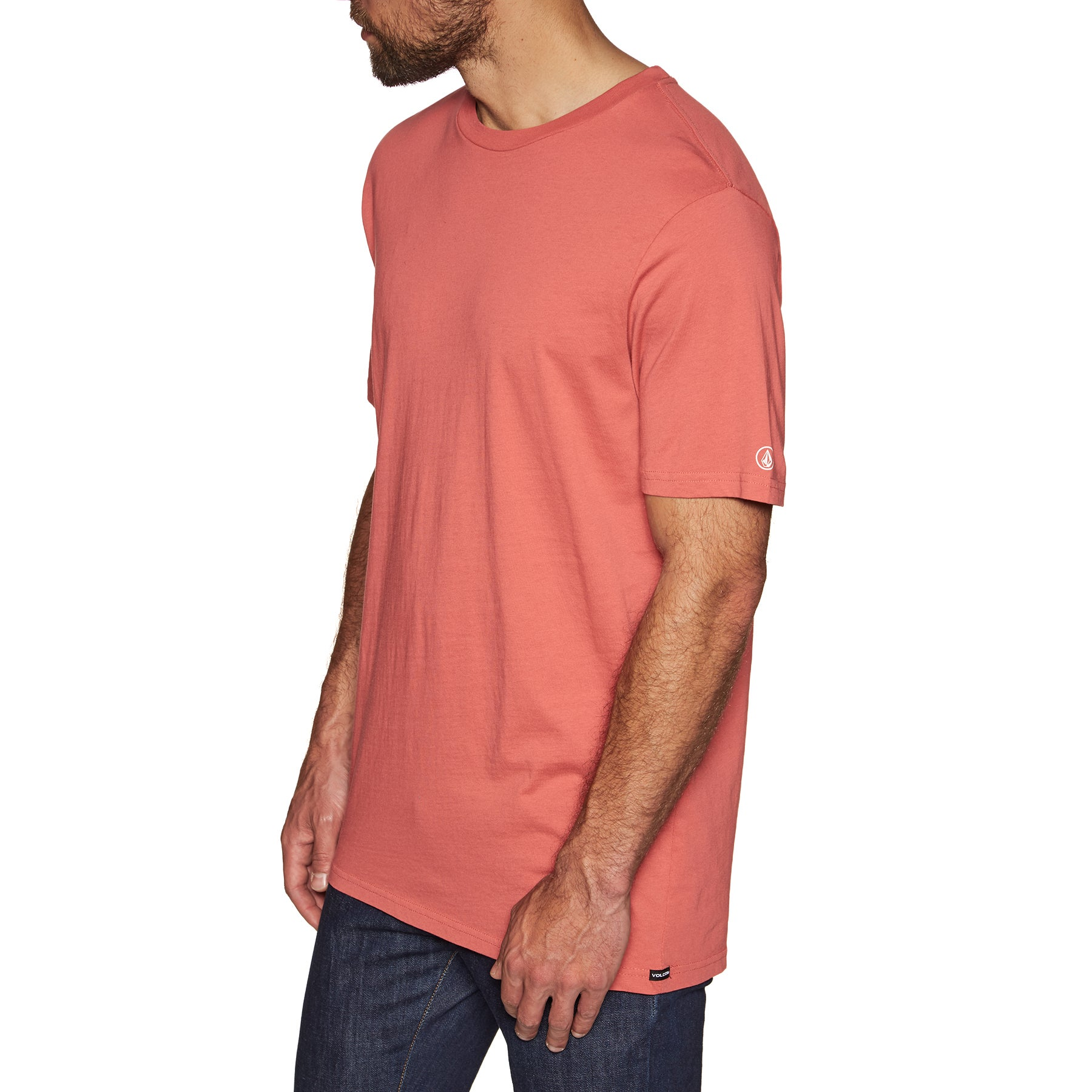 Volcom Solid Short Sleeve T-Shirt - Mineral Red