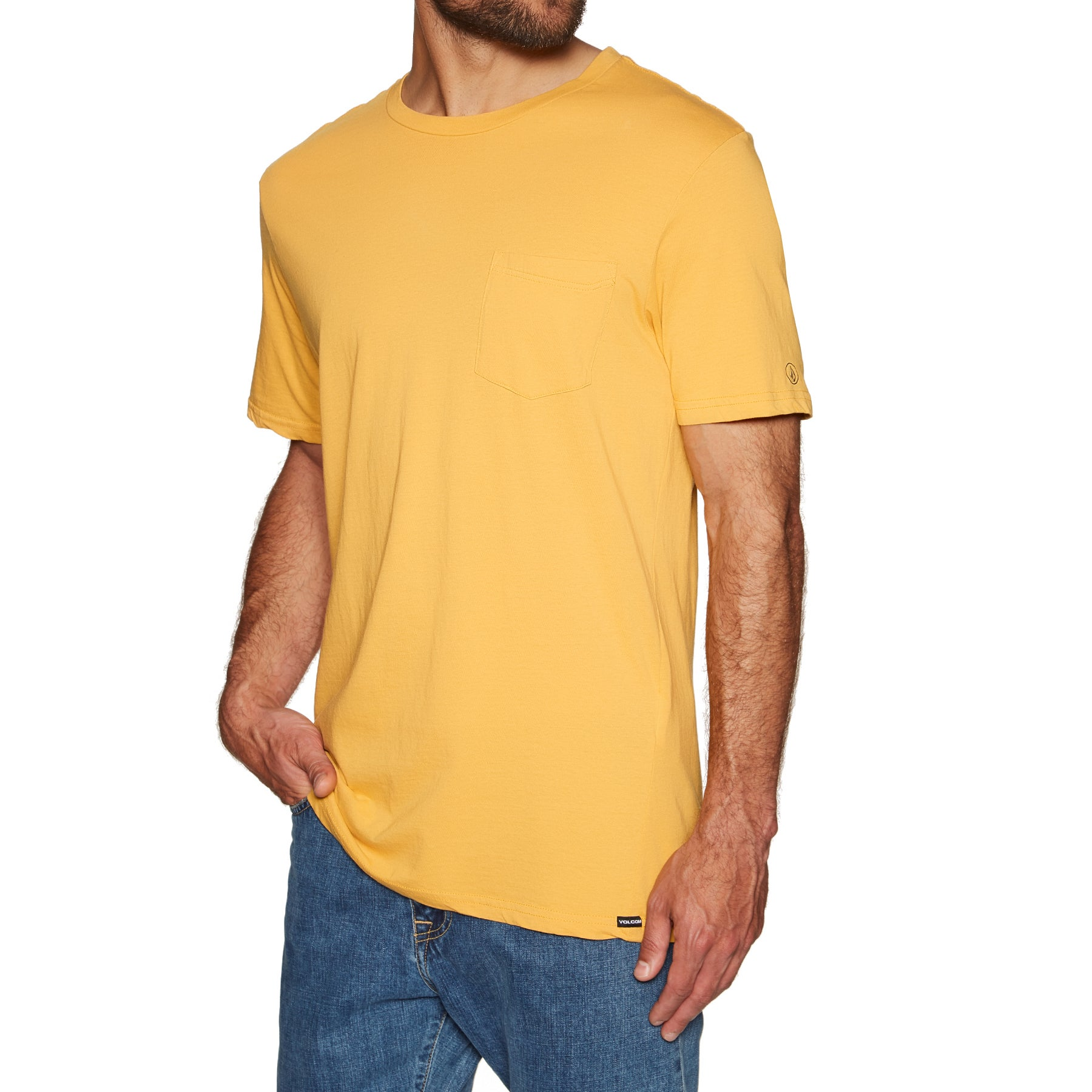 T-Shirt à Manche Courte Volcom Solid Pocket - Honey Gold