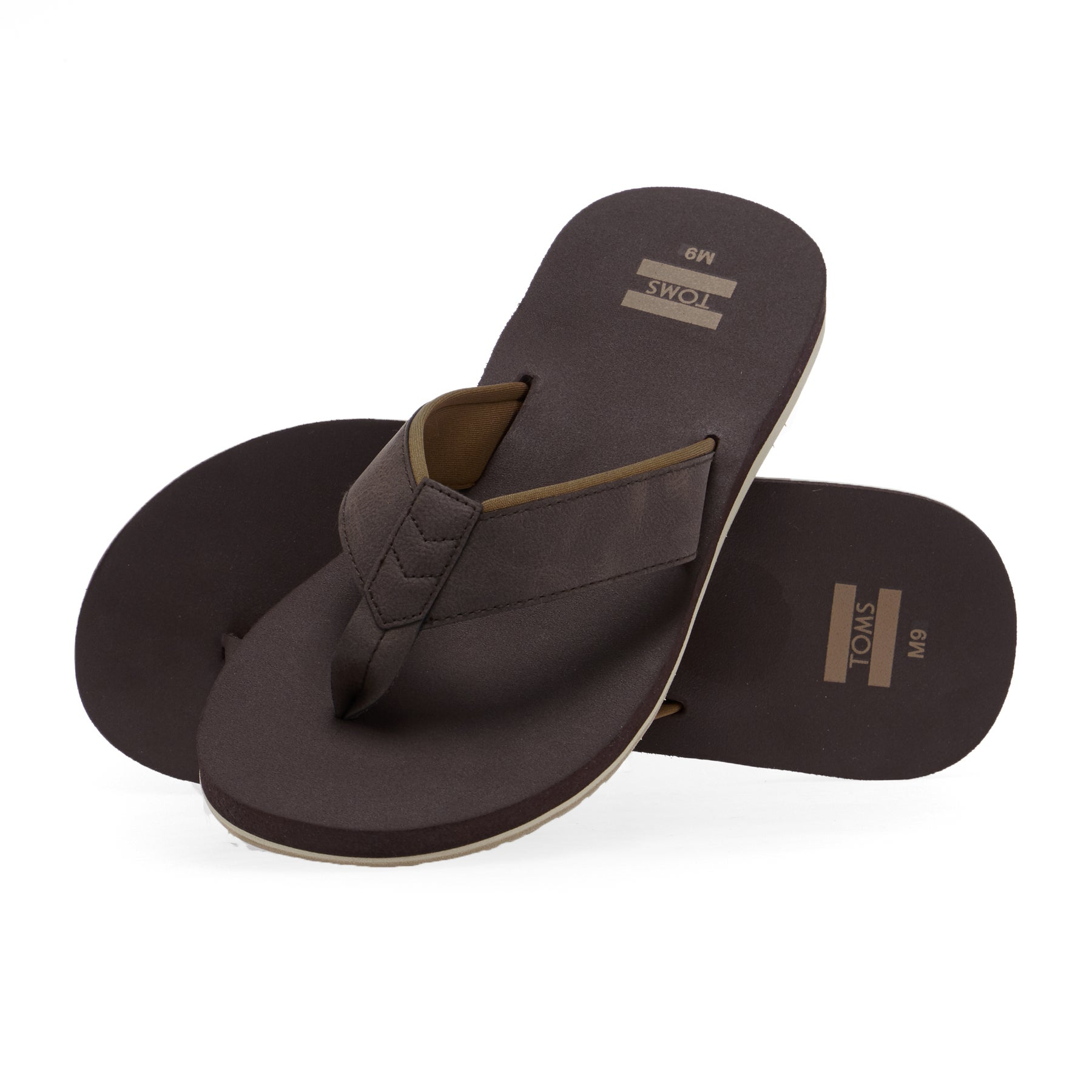 Toms Carilo Slip On Shoes - Dark Brown