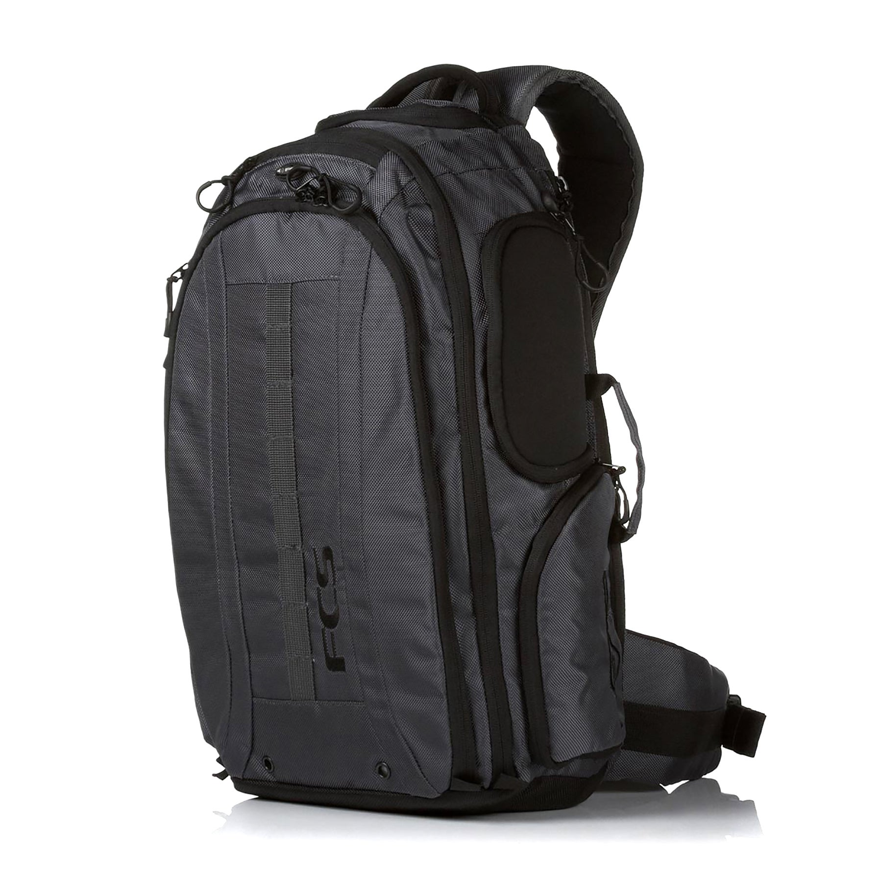 FCS Mission Premium Surf Backpack - Black