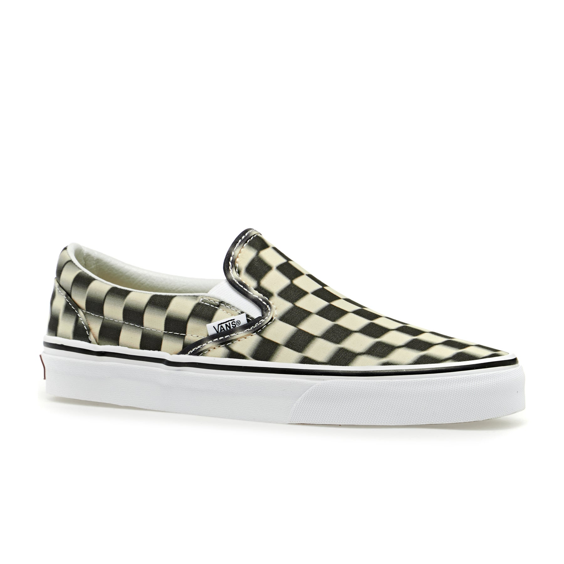 Vans Authentic Classic Dress Shoes - Checkerboard   Black Classic White