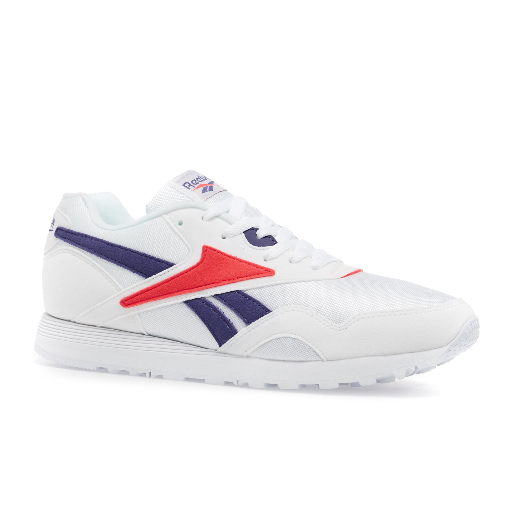 Reebok Rapide Mu Shoes - White Team Purple Neon Red