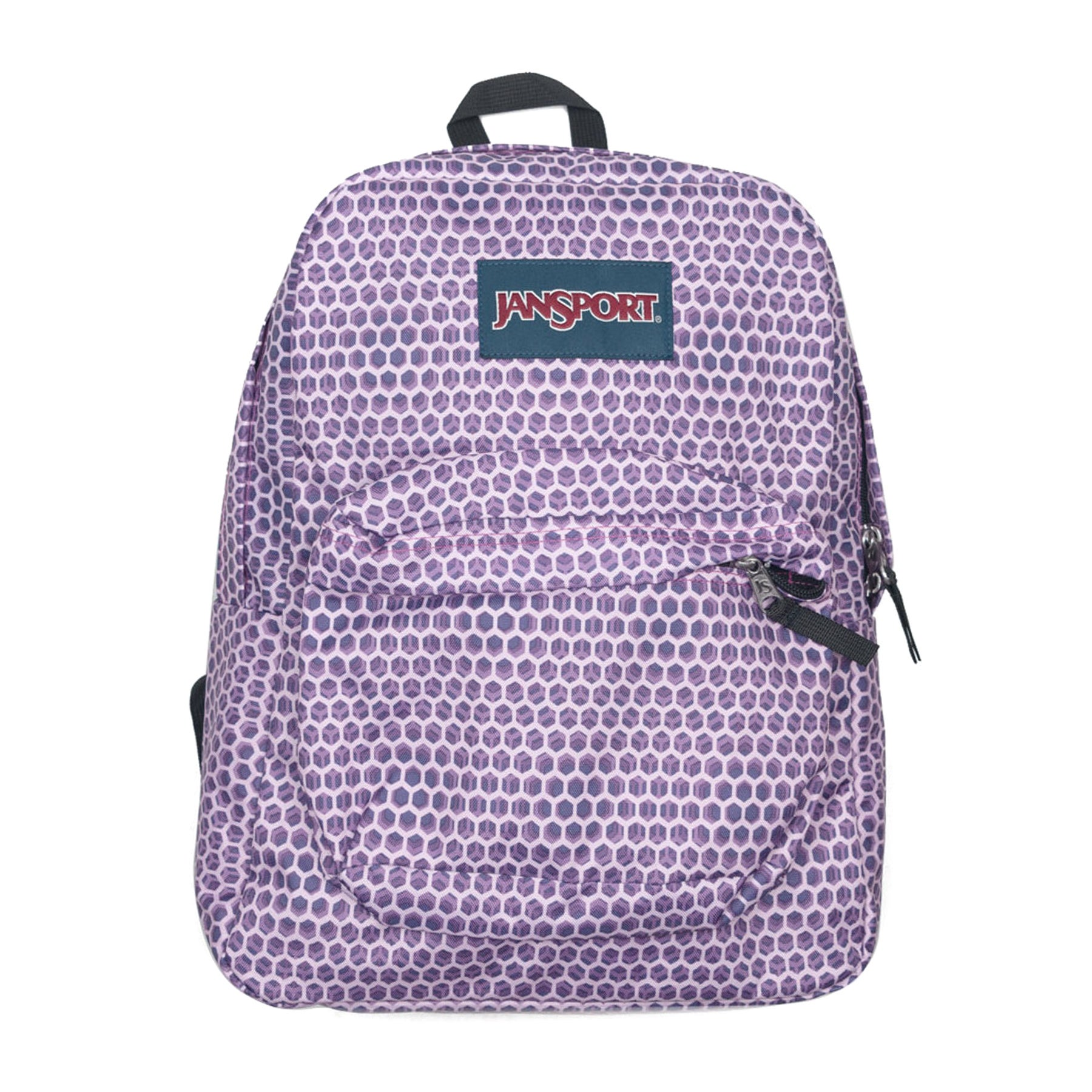 Jansport Superbreak Backpack - Urban Optical Purple
