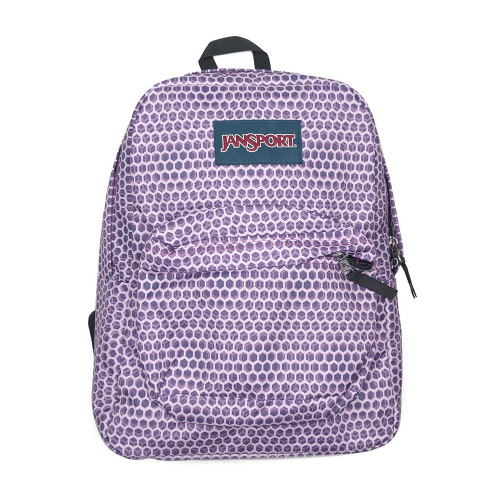 Jansport Superbreak , Ryggsäck - Urban Optical Purple