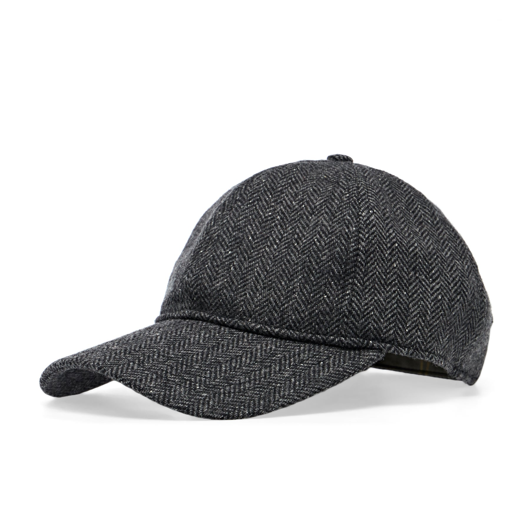 Barbour Oakwell Sports Cap - Grey Herringbone