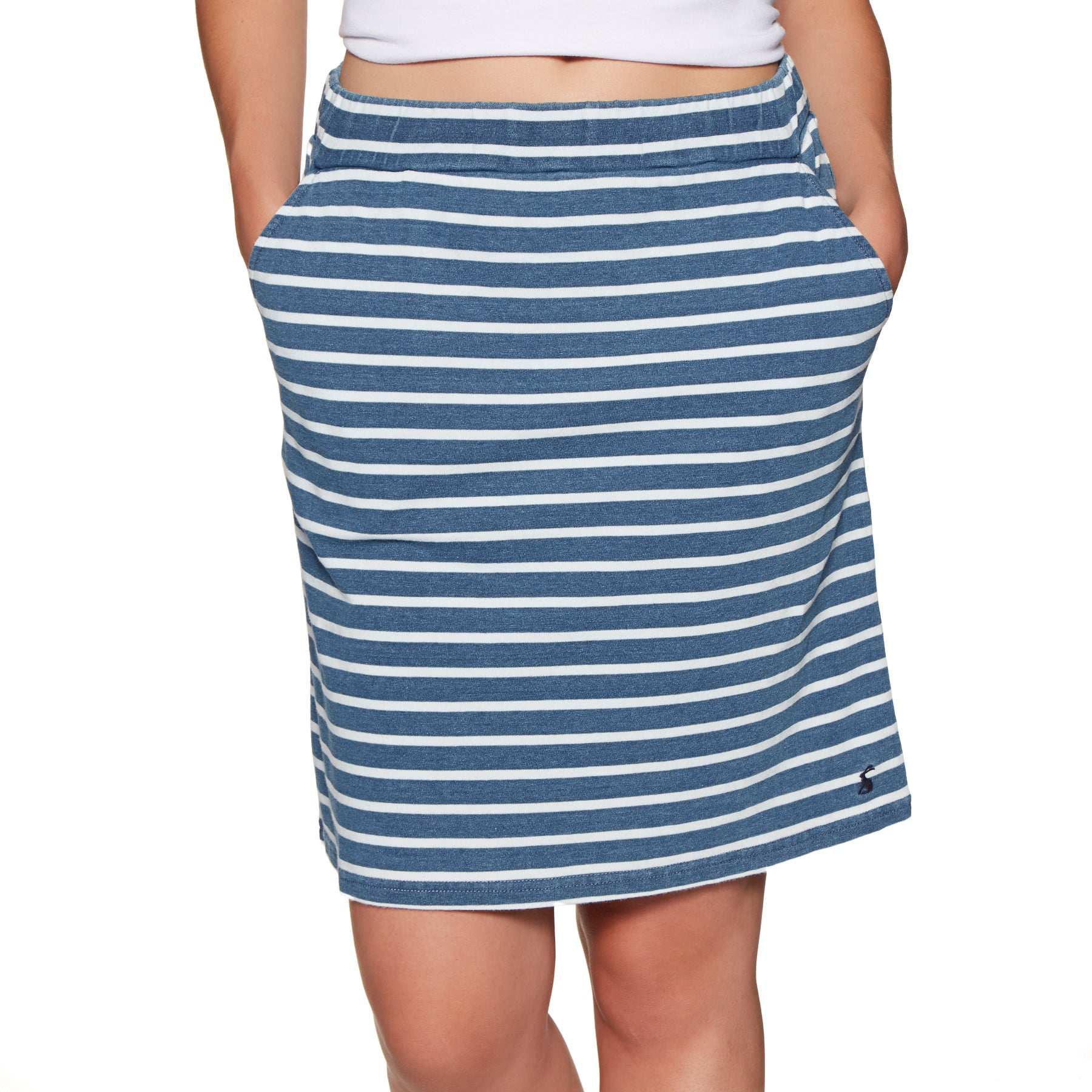 Joules Portia Skirt - Blue Stripe