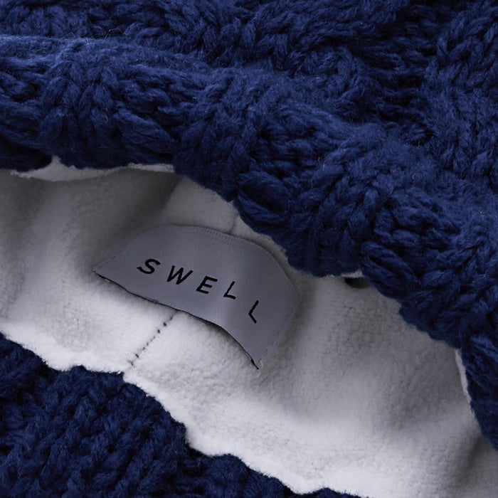 SWELL Whistler Cable Pom Womens Beanie