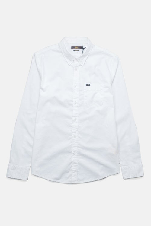 1d935b11 Camisa Lee Button Down - White