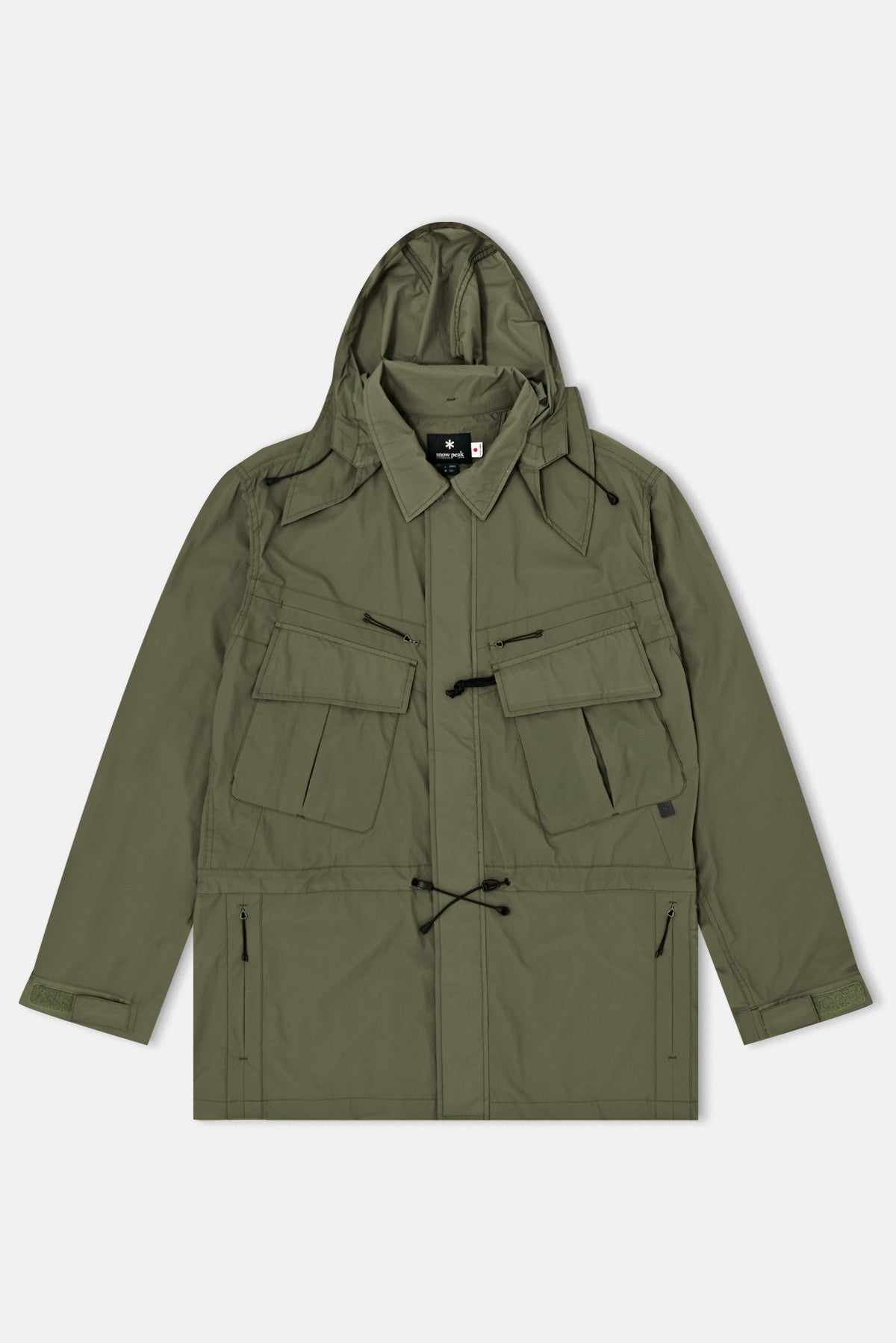 Snow Peak Rain   Wind Resistant Jacket available from Priory 21bdc802189e