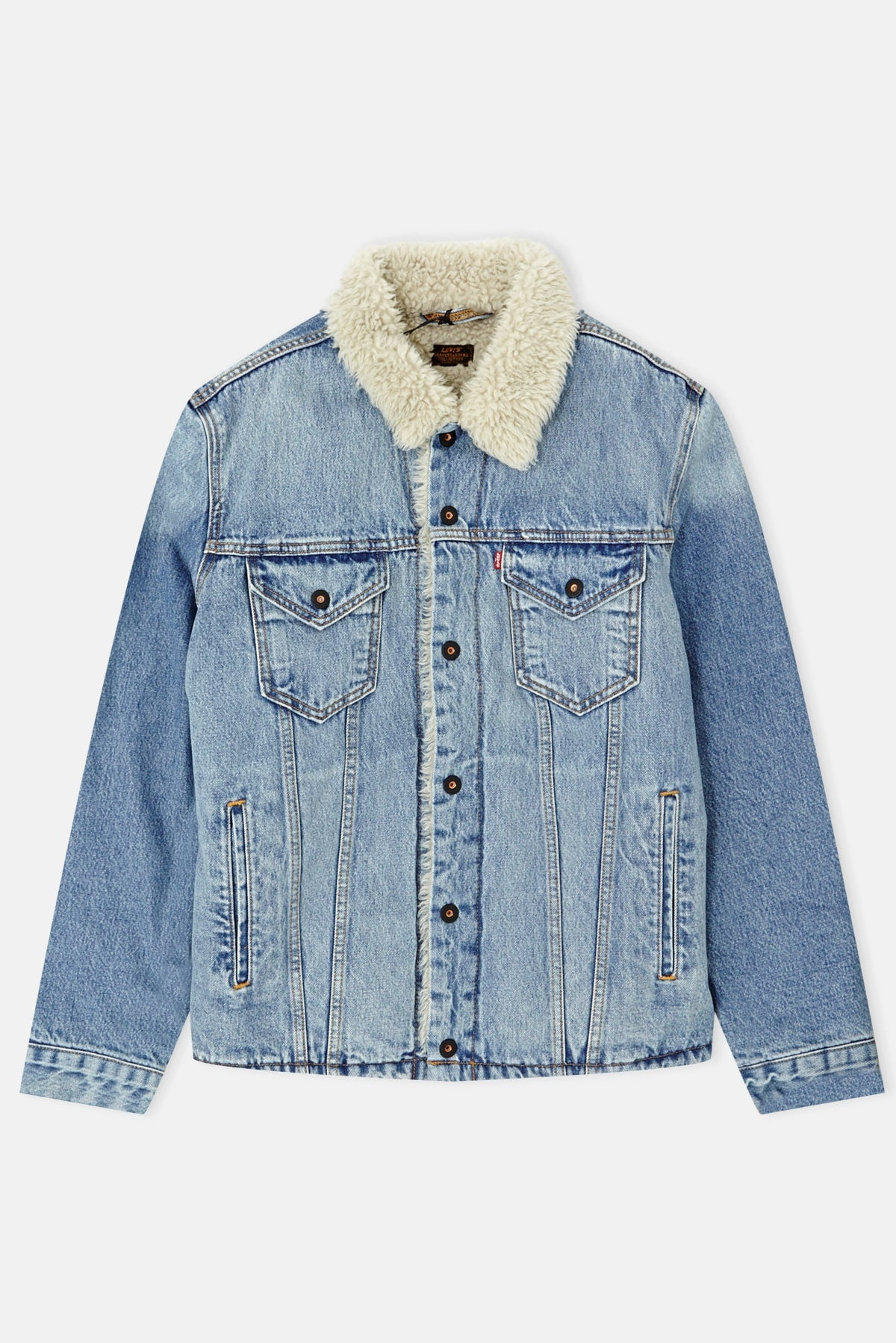 7faa9c1d4a Levis Skate Sherpa Trucker Jacket available from Priory