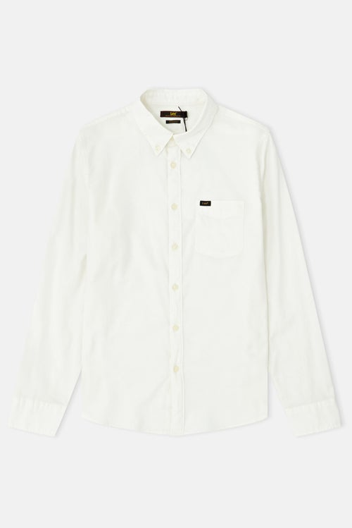 e30b1a27 Lee Button Down Cloud Dancer Hemd - Cloud Dancer