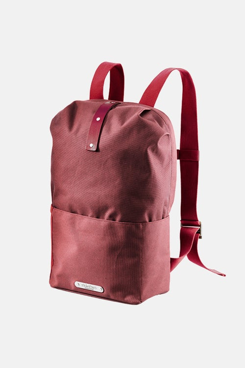 a5b7976e7d Brooks England Dalston Waterproof 20L Backpack - Red Fleck
