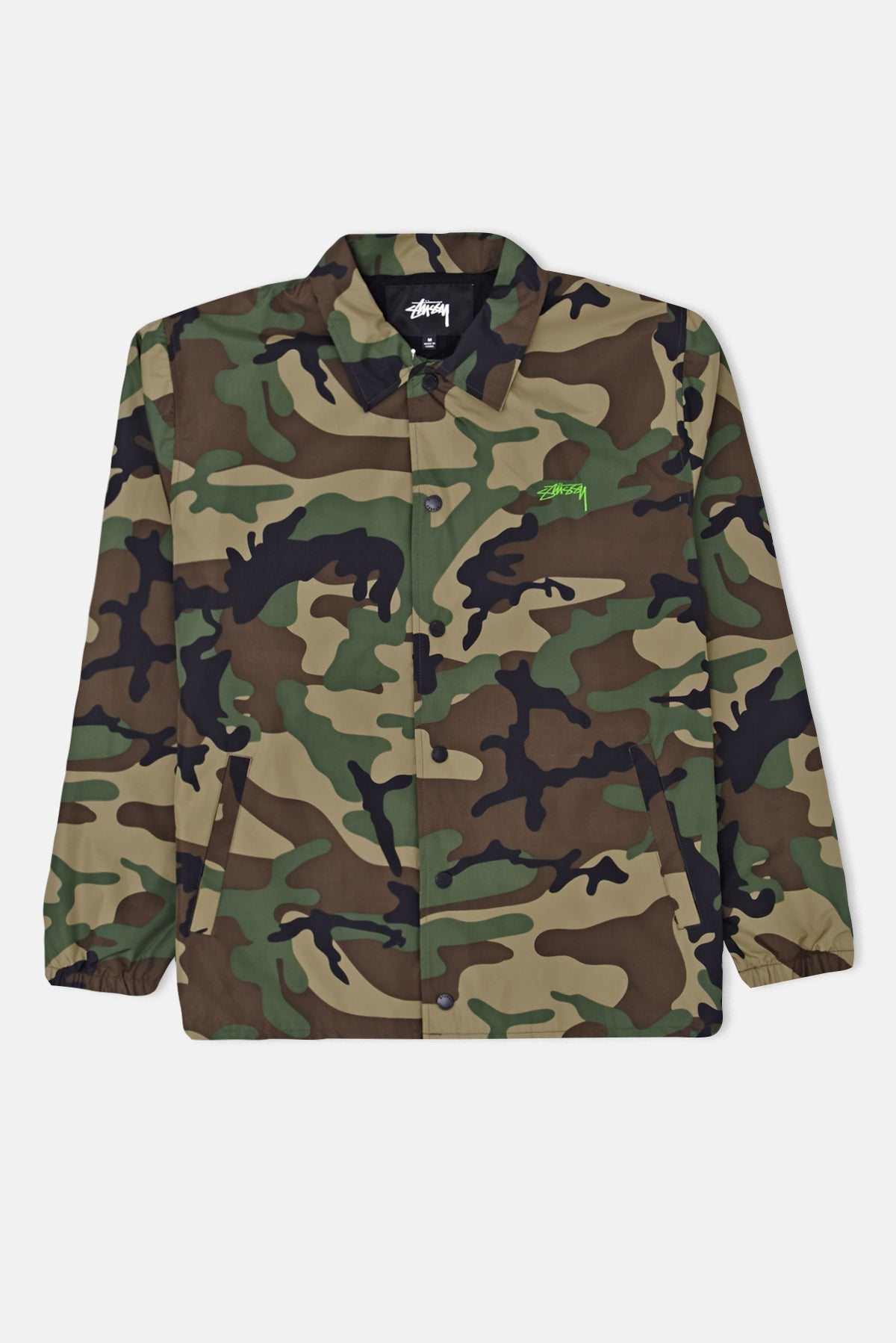 ce8c376e9849 Stussy Camo Cruize Coach Jacket available from Priory