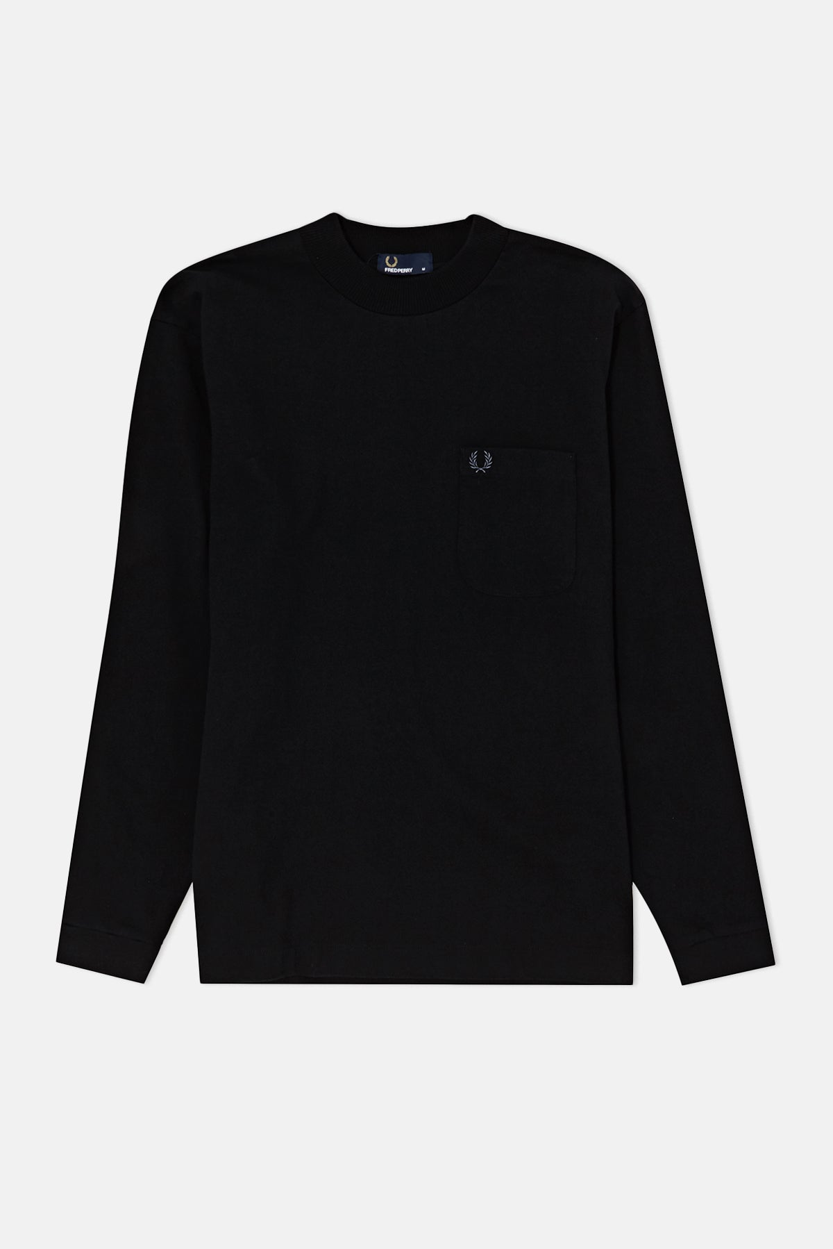 1f73f2e5bee6 Fred Perry High-neck L S T-Shirt available from Priory