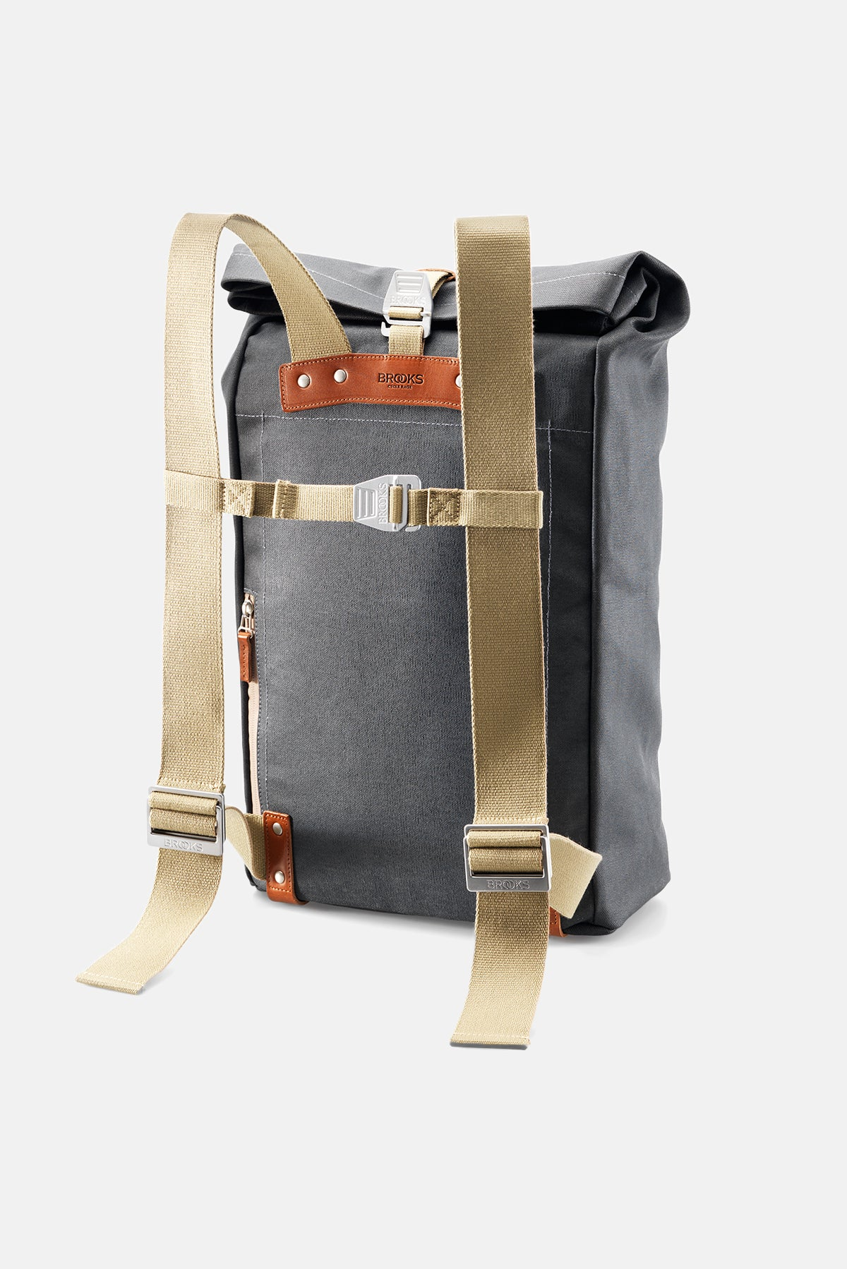 e3260885ef Brooks England Pickwick Canvas Leather Batoh available from Priory