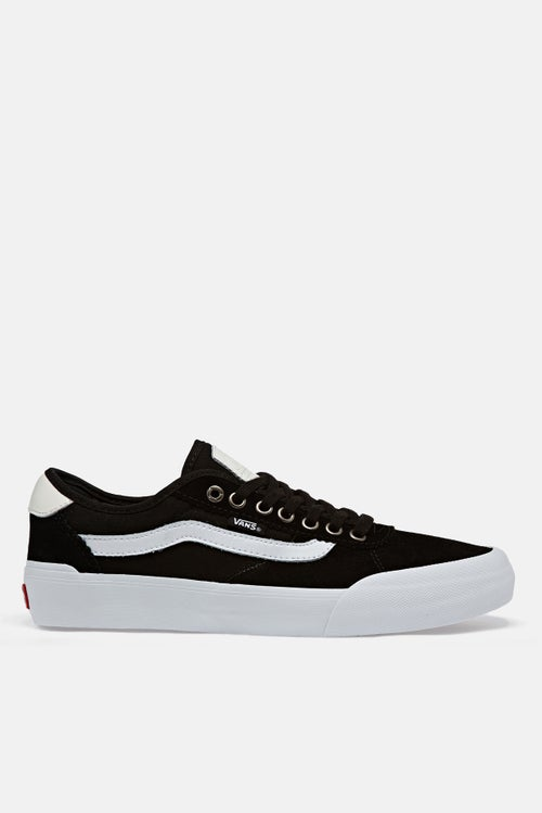 b1283ec7dc Vans Chima Pro 2 Shoes - Suede Canvas Black White