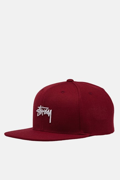 8b8bdcbd840 Stussy Stock Snapback Cap available from Priory