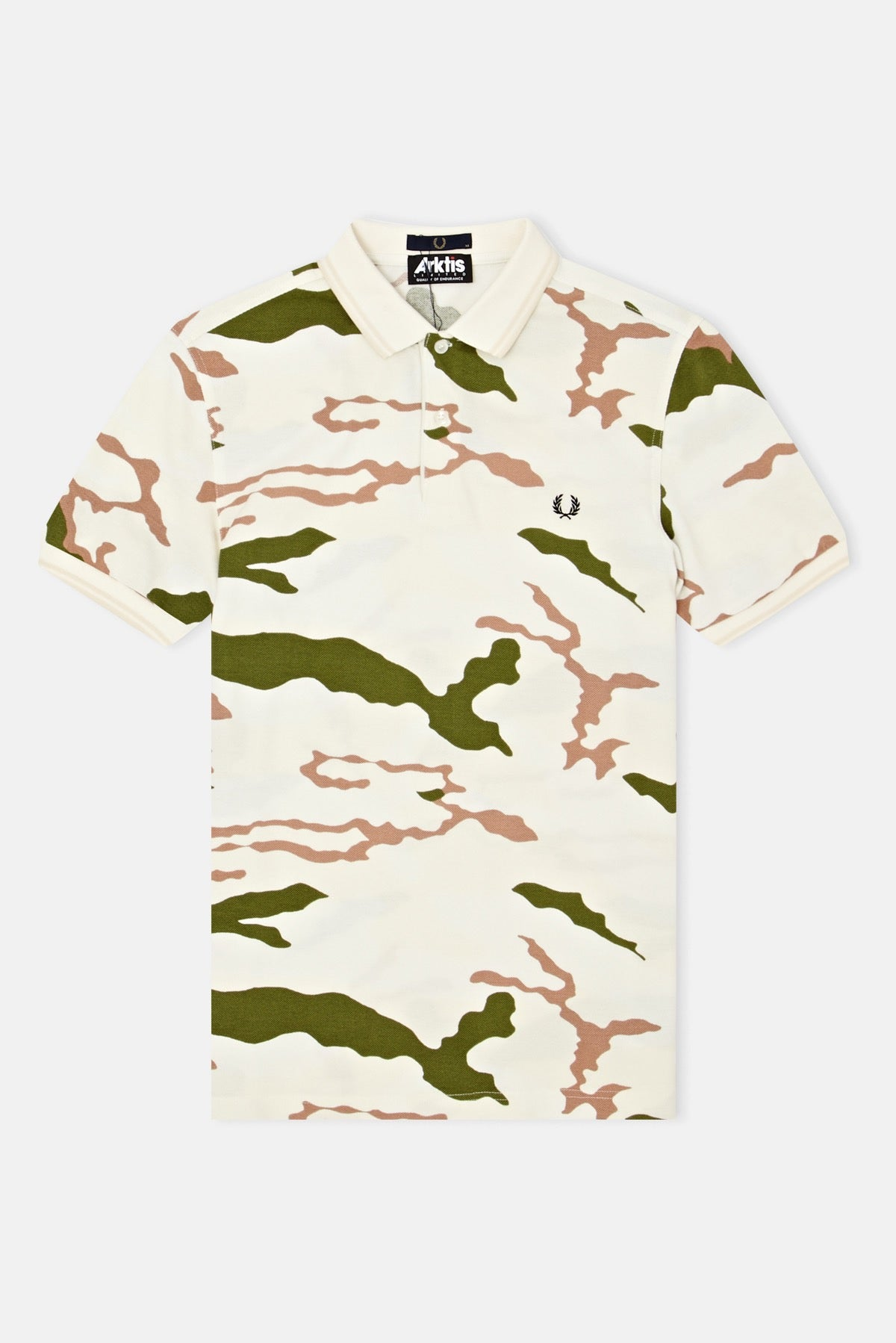 f7a625c7c Fred Perry Collections x Ark Air Camouflage Pique Polo available ...
