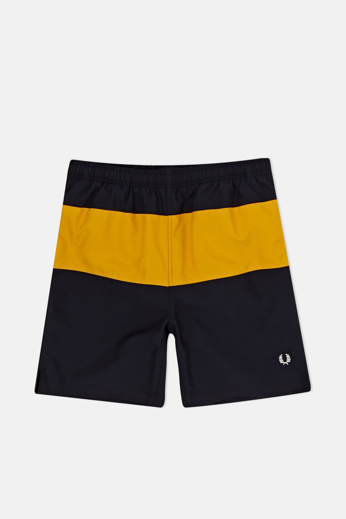 8dfecd762debe Fred Perry Panelled Swim Shorts available from Priory