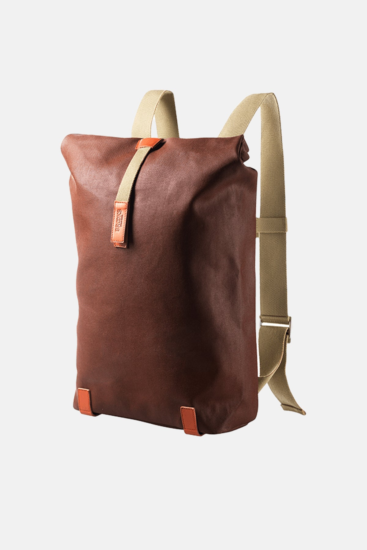 7f74e05e74 Brooks England Pickwick Canvas Leather Backpack available from Priory