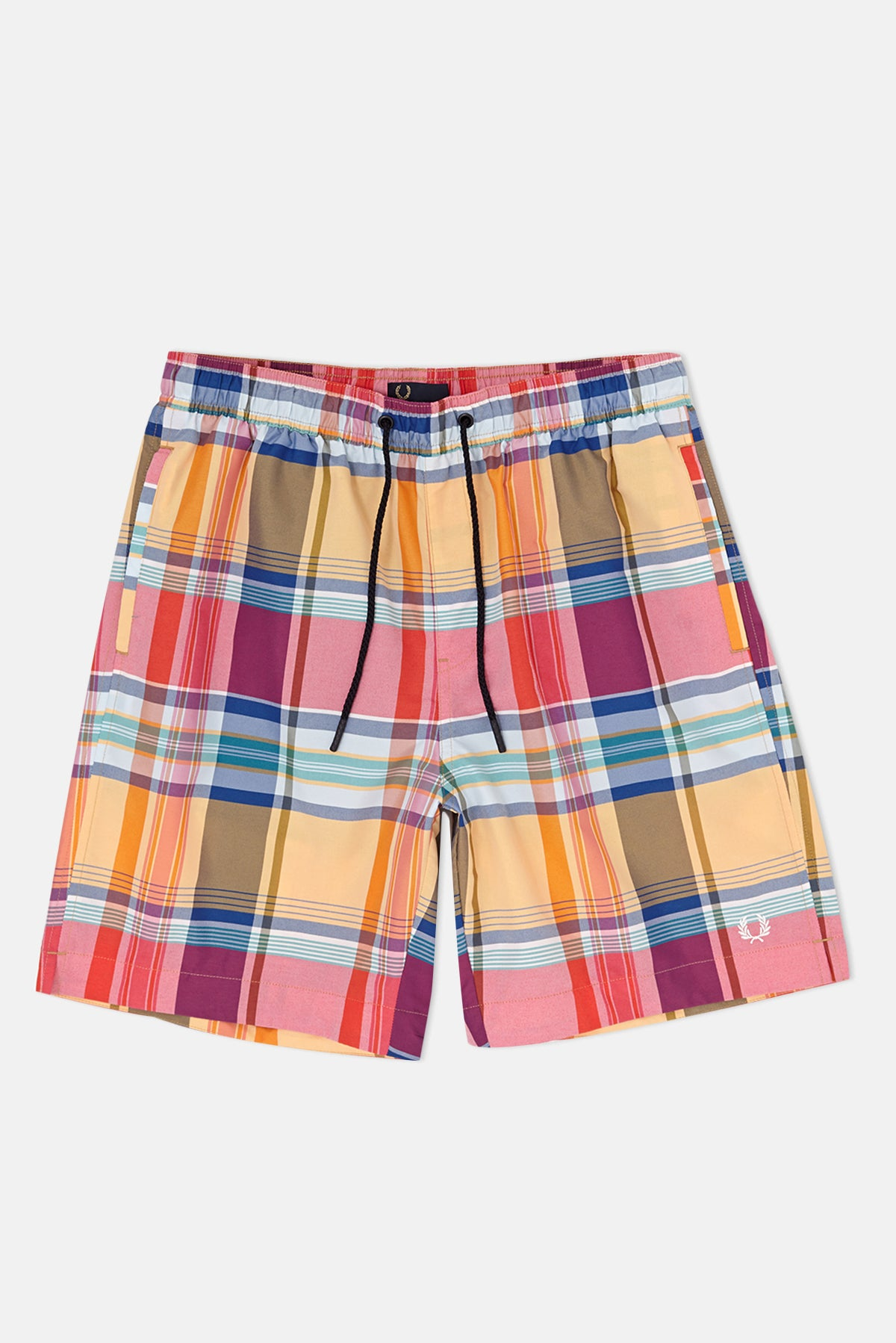 c8a73ad389 Fred Perry Madras Check Swim Shorts available from Priory