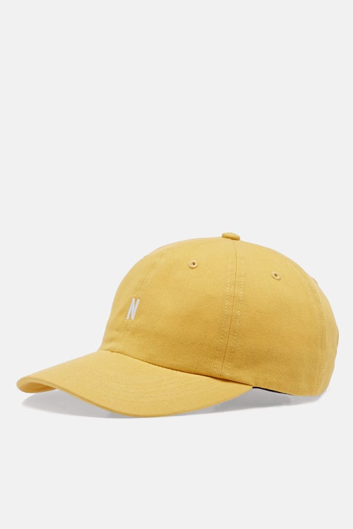 e0c7bb1bf1 Norse Projects Twill Sports Cap - Sun Washed Yellow