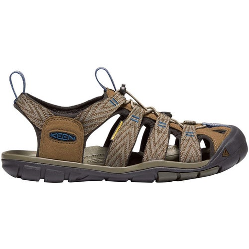 cda9ef4f29c1 Keen Clearwater CNX Mens Sandals - Dark Earth Blue Opal