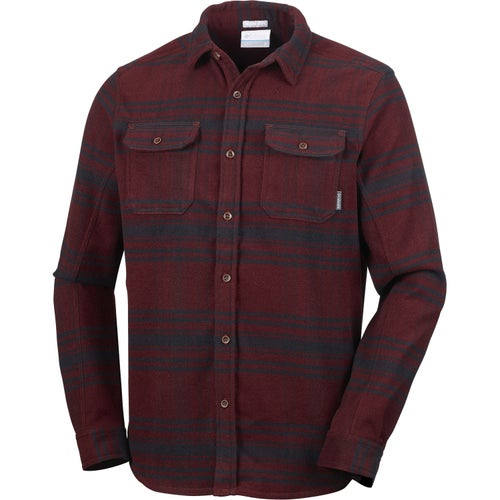 19ae5fcae54 Columbia Deschutes River Heavyweight Flannel Mens Shirt available at  Webtogs.com