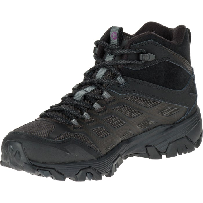 ef732c1390f Merrell Moab FST Ice Plus Thermo Mid Womens Hiking Boots available ...
