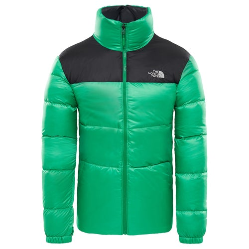 8af02a2466113 Kurtka puchowa North Face Nuptse III - Primary Green TNF Black