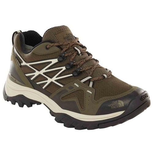 f497b10f3149 North Face Hedgehog Fastpack GTX Mens Walking Shoes - New Taupe Green TNF  Black